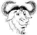 [Gambar Kepala dari GNU]